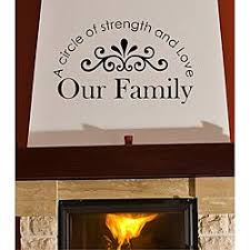 Shop Vinyl Attraction A Circle Of Strength And Love Our Family Arched Design Wall Decal On Sale Overstock 6077717