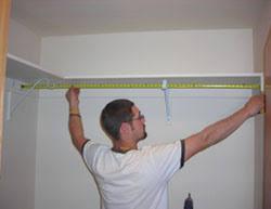building basic closet shelving
