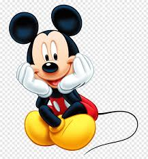 Mickey Mouse sitting crossed legs while putting hands on cheeks  illustration, Mickey Mouse Minnie Mouse Computer mouse, mickey free png