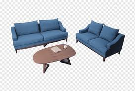 coffee table living room couch blue