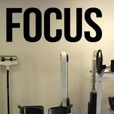 Gym Self Motivation Focus Quotes Vinyl Decal Workout Fitness Center Wall Sticker Home Gym Interior Wall Window Decor N262 Wall Stickers Aliexpress