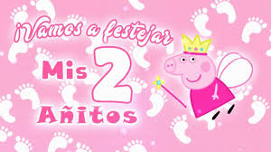 Peppa Pig Hada Invitacion Para Cumpleanos Youtube