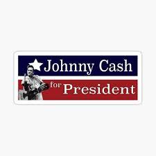 Johnny Cash Stickers Redbubble
