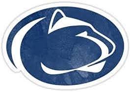 Amazon Com Chili Print Penn State Logo Psu Ps I Love U Sticker Graphic Bumper Window Sicker Decal State Love Sticker Automotive