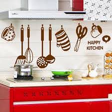 Diy Removable Happy Kitchen Wall Decal Vinyl Home Decor Wall Stickers New Vinilo Decorativo Para Pared Decoracion Habitacion P2 Wall Stickers Aliexpress