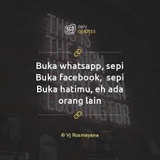 kata kata galau inicio facebook