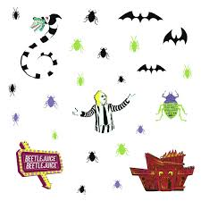 Beetlejuice Peel And Stick Wall Decals Entertainment Earth