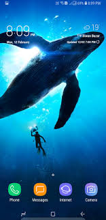 33 samsung s8 whale wallpaper on