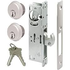 Amazon Com Double Keyed Gate Latch Lock Secure Automatic Locking On Both Sides Anti Vandal Concealed Screws Weldable Steel Lock Box Grade 3 Stainless Steel Home Improvement