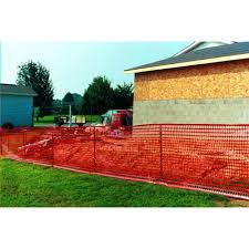 Tenax 4 Ft X 100 Ft Orange Barrier Guardian Safety Fence 998044 At The Home Depot Safety Fence Outdoor Pool Safety Fence