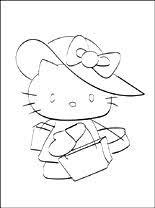 Hello Kitty Gratis Kleurplaten