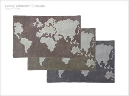 Severinka S Lenny Kidsroom World Map Rug