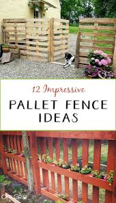 12 Impressive Pallet Fence Ideas Anyone Can Build Off Grid World