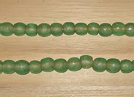 artisan handmade large recycled glass beads