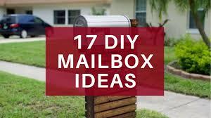 17 Easy Diy Mailbox Ideas Decorative Mailbox Designs Youtube