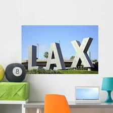 Los Angeles International Airport Wall Decal Wallmonkeys Com