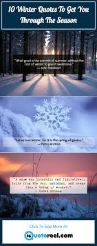 winter quotes to celebrate the chilly season