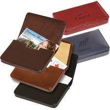 gift boxed leather soho card case