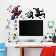 Marvel Spiderman 15 Piece Vinyl Wall Decal Set Bed Bath Beyond