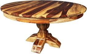 round dining table pedestal solid wood