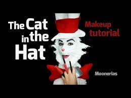 maquillaje de the cat in the hat you
