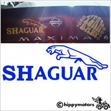 Shaguar Car Decal Made In England Using Top Quality Vinyl Baby