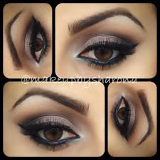 makeup for brown eyes by georgette