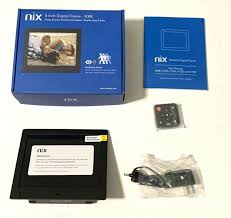 nix x08e 8 digital photo frame