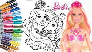 mewarnai barbie cantik mewarnai anak