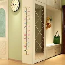 Ruler Wall Sticker Height Measure Kids Growth Chart Baby Home Decor Vinyl Decal 695897826668 Ebay
