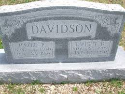 Dwight Darwood Davidson (1909 - 1970) - Genealogy