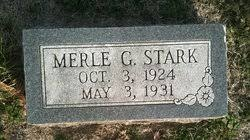 Merle Gibson Stark (1925-1931) - Find A Grave Memorial
