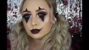 creepy cute clown makeup