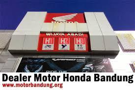 dealer resmi motor honda bandung cimahi