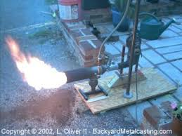 a homemade waste oil burner