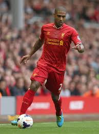 Glen Johnson - Glen Johnson Photos - Liverpool v Stoke City ...