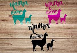 A Personal Favorite From My Etsy Shop Https Www Etsy Com Listing 583419056 Mama Llama Car Decal Mama L Phone Case Decals Custom Decals Cell Phone Case Decals