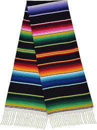 mexican se blanket blue