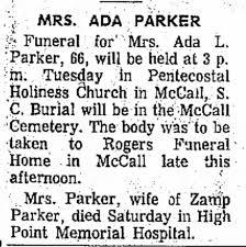 Ada Parker - Newspapers.com