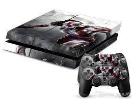 2020 Pop God Of War Ps4 Skin Sticker Wrap For Playstation 4 Ps4 Console And 2 Controller Cover Decal From Yfxu 09 9 07 Dhgate Com