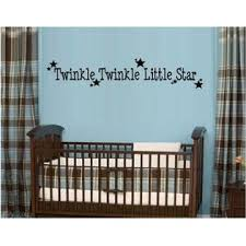 Made By G B Vinyl Decals Twinkle Teinkle Little Star Kids Room Wall Decal Letters Sticker Home Decor