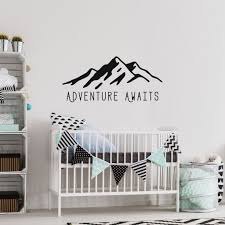 Adventure Awaits Wall Decals By Twelve9 Printing