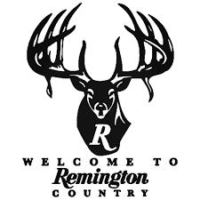 Remington Country Vinyl Decal Car Truck Window Buck Logo Hunting Sticker