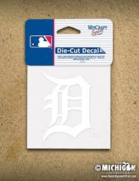 Detroit Tigers Old English D Decal The Michigan Outfitter