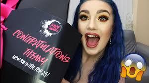 nyx professional makeup face awards uk