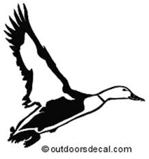 Flying Duck Decal Md Waterfowl Truck Stickers Wildlife Decal