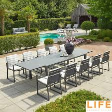 11 piece extendable dining table set