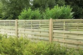 Decorative Fence Panel Fencing