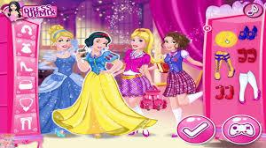 barbie princess charm dress up