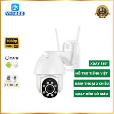 Camera Giám Sát Ngoài Trời Yoosee X2100 - Camera Ptz– Xoay 360 Độ - Ghi  Hình Đêm Có Màu - Bảo Hành 12 Tháng